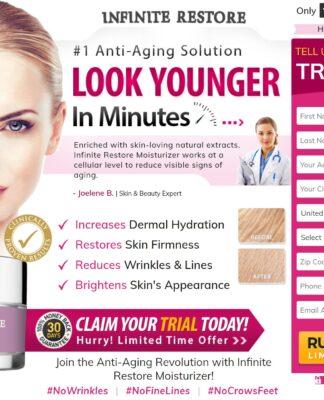 infinite restore moisturizer