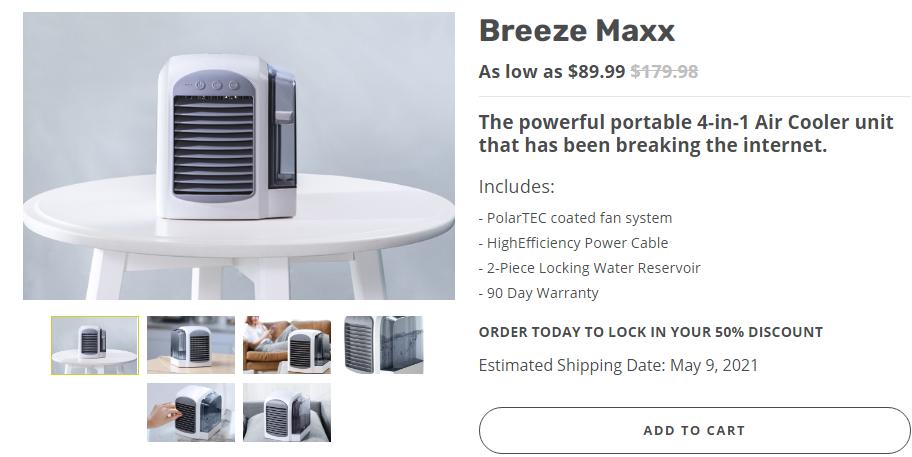 breeze maxx reviews
